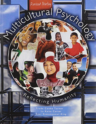 9781465248589: Multicultural Psychology: Reflecting Humanity