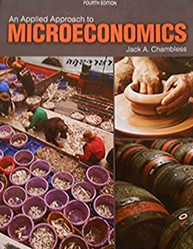 9781465249920: An Applied Approach to Microeconomics - text