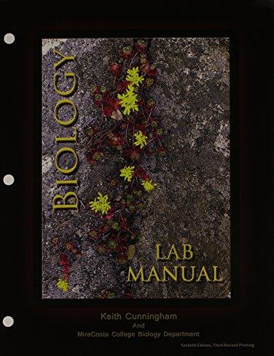 9781465250834: Biology Lab Manual