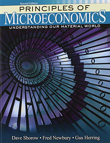 9781465251442: Principles of Microeconomics: Understanding Our Material World