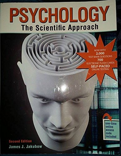 Psychology: The Scientific Approach - Text: Jakubow, James