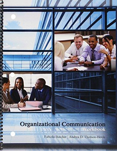9781465252425: Organizational Communication Workbook