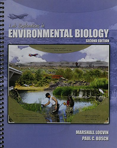 9781465252845: Lab Explorations in Environmental Biology