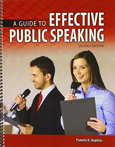 9781465253040: A Guide to Effective Public Speaking