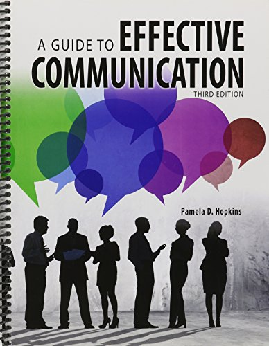 9781465253118: A Guide to Effective Communication