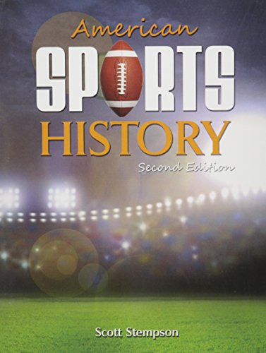 9781465253156: American Sports History