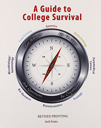 9781465253484: A Guide to College Survival