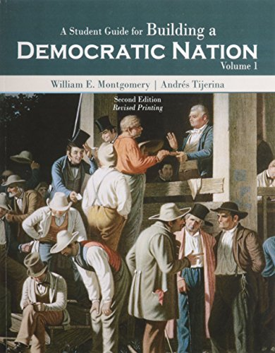 9781465256423: A Student Guide for Building a Democratic Nation, Volume 1