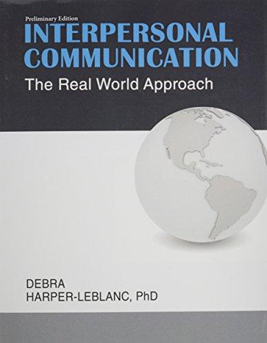 9781465261038: Interpersonal Communication