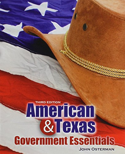 9781465266989: American AND Texas Government Essentials
