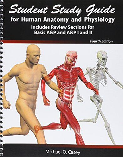 9781465268327: Student Study Guide for Human Anatomy and Physiology: Includes Review Sections for Basic AANDP and AANDP I and II