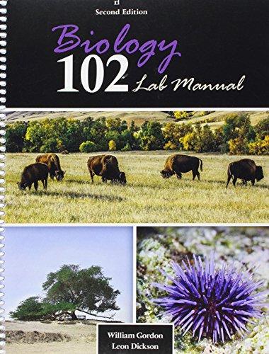9781465268495: Biology 102 Lab Manual