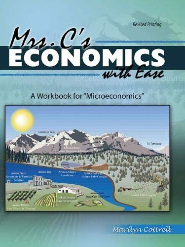 9781465270382: Mrs. C's Economics with Ease: A Workbook for Microeconomics