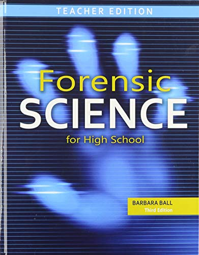 9781465270771: Forensic Science for High School: Teacher Text + 6 Yr Online License