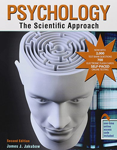 Psychology: The Scientific Approach: JAMES, JAKUBOW