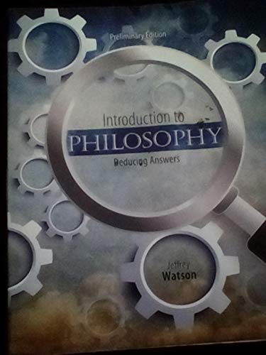 9781465273895: Introduction to Philosophy: Deducing Answers