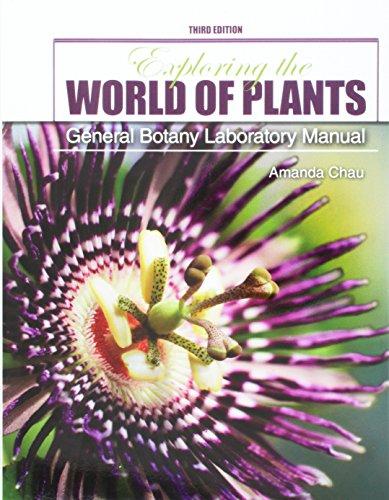 9781465275530: Exploring the World of Plants: General Botany Laboratory Manual