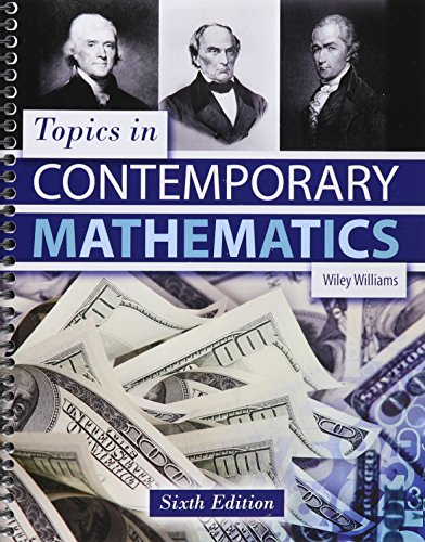 9781465277176: Topics in Contemporary Mathematics