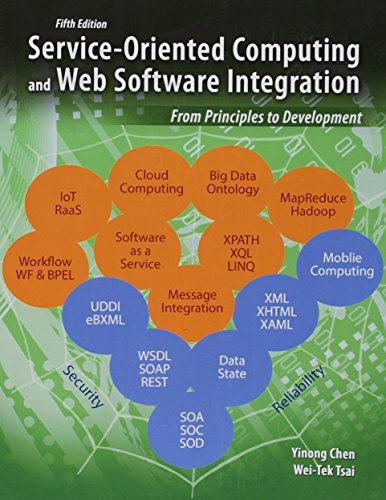 9781465277732: Service-Oriented Computing and Web Software Integration: From Principles to Development