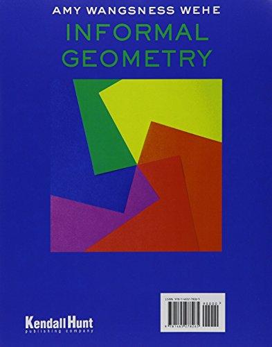 9781465278265: Informal Geometry