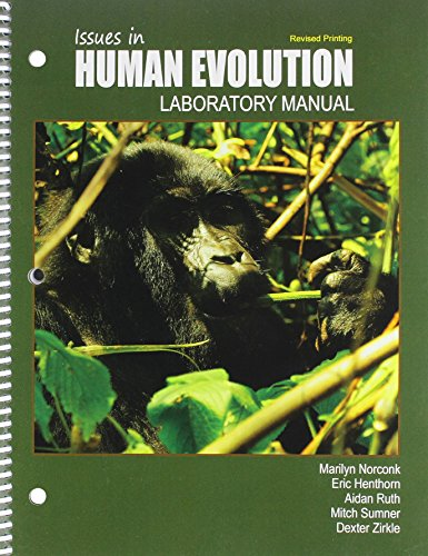 9781465278777: Issues in Human Evolution Lab Manual