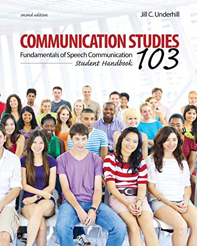 9781465281395: Communication Studies 103: Fundamentals of Speech Communication, Student Handbook