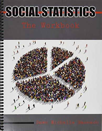 9781465282064: Social Statistics: The Workbook
