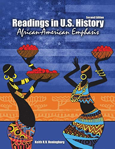 Readings In US History: African-American Emphasis: HENINGBURG KEITH
