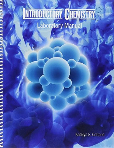 9781465283085: Introductory Chemistry Laboratory Manual