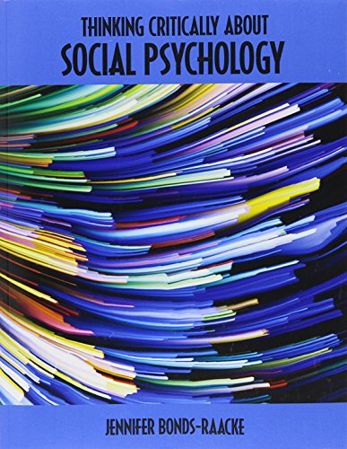 9781465288370: Thinking Critically About Social Psychology