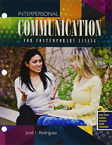 9781465289346: Interpersonal Communication for Contemporary Living