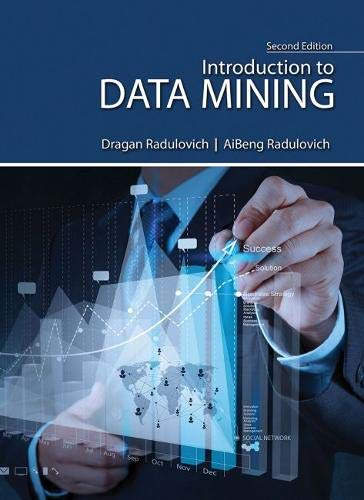 9781465292049: Introduction to Data Mining