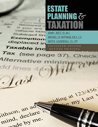 9781465295514: Estate Planning and Taxation