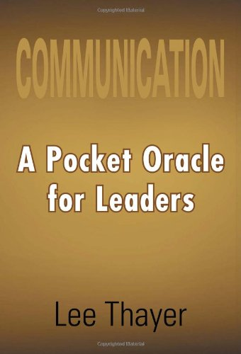 9781465306647: Communication a Pocket Oracle for Leaders