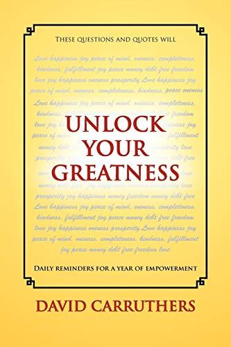 9781465395641: Unlock Your Greatness