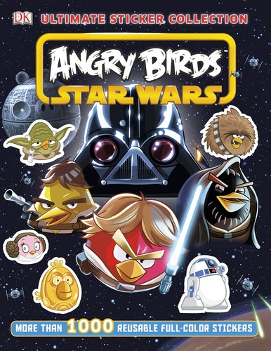 9781465400758: Angry Birds Star Wars (Ultimate Sticker Collection)