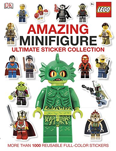 9781465401731: Ultimate Sticker Collection: Amazing LEGO® Minifigure: More Than 1,000 Reusable Full-Color Stickers