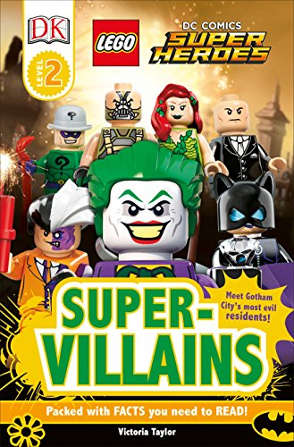 9781465401762: DK Readers L2: Lego DC Super Heroes: Super-Villains (DK Readers. Level 2)