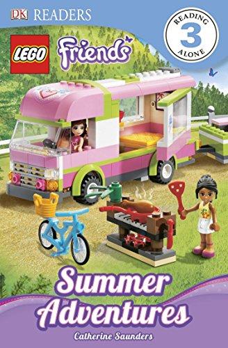 DK Readers L3: LEGO Friends: Summer Adventures: Saunders, Catherine