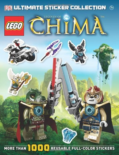 9781465408624: Ultimate Sticker Collection: LEGO Legends of Chima (ULTIMATE STICKER COLLECTIONS)