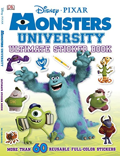 9781465408785: Ultimate Sticker Book: Monsters University (Ultimate Sticker Books)