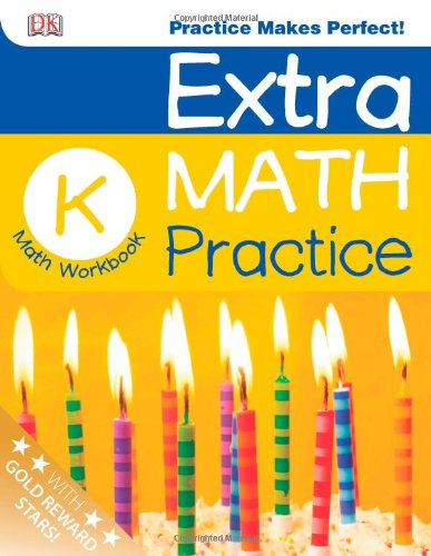 Extra Math Practice: Kindergarten (Math Made Easy): DK Publishing