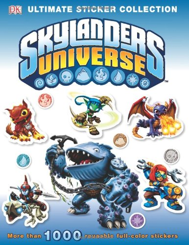 Skylanders Universe Ultimate Sticker Collection (Paperback)