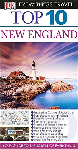 9781465410160: Dk Eyewitness Travel Top 10 New England