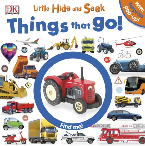 9781465414281: Little Hide and Seek: Things That Go