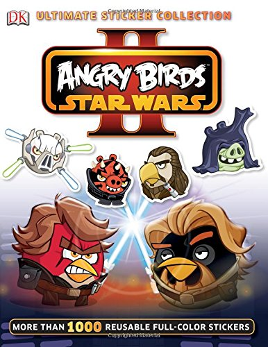 9781465415363: Ultimate Sticker Collection: Angry Birds Star Wars II