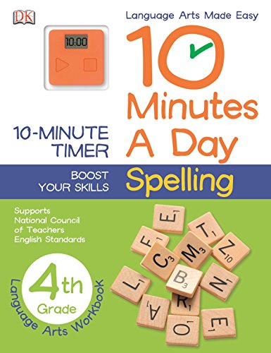 9781465417152: 10 Minutes a Day: Spelling, Fourth Grade