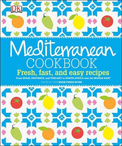 Mediterranean Cookbook: Moine, Marie-Pierre; Luard,