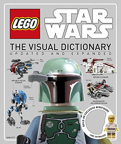 9781465419217: Lego Star Wars: The Visual Dictionary [With Luke Skywalker Minifigure]