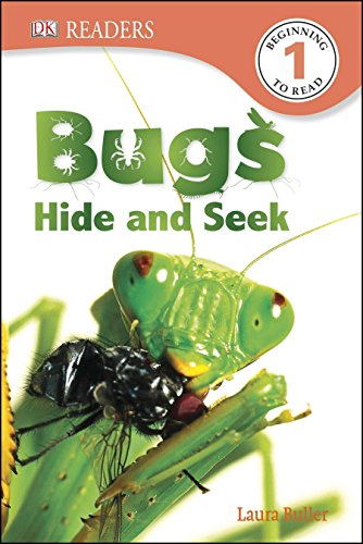 DK Readers L1: Bugs Hide and Seek: Laura Buller